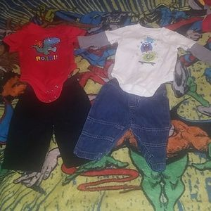 Other - 2 outfit lot!  Size 0-3 months